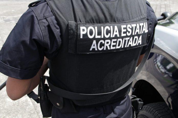 SSP policia estatal 696x464 - Policía Estatal asegura armas de fuego y droga - #Noticias