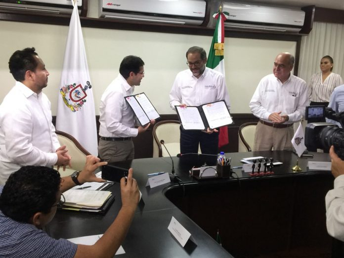 convenio deudas colima issste 696x522 - Firman convenio Gobierno de Colima e ISSSTE para pagar adeudo de pasada administración con dependencia federal - #Noticias