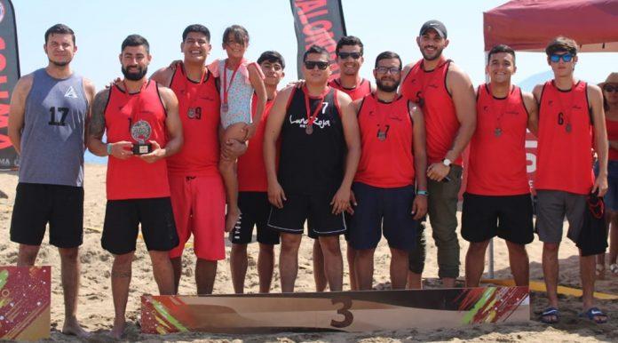 Handball de playa 696x386 - Premia Gobierno Estatal a campeones de la Copa de Balonmano de Playa, Volcán 2020 - #Noticias