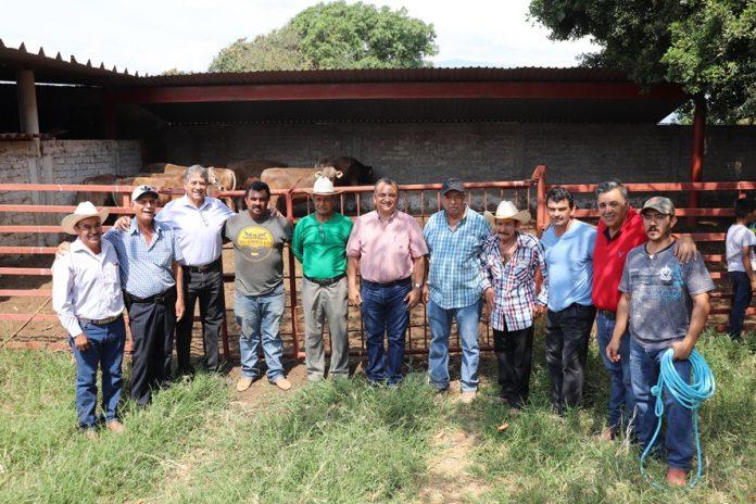 Felipe Cruz entrega 7 sementales a productores del campo del programa Prodeter 696x464 - Felipe Cruz entrega 7 sementales a productores del campo, del programa Prodeter - #Noticias