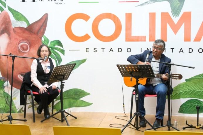 Poesía y música se conjugan en la FILPM