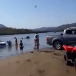patrulla turística 150x150 - Se hunde patrulla de la policía turística en el balneario La Boquita en Manzanillo (video)