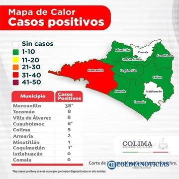 COvid19 colima 16 mayo - Suman 69 casos de #Covid-19 en el Estado de #Colima