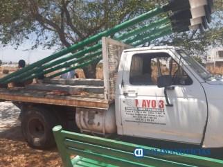 Vecinos de colonia Villas Diamante en Villa de Álvarez se unen para evitar que empresa destruya jardín7