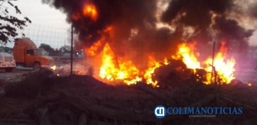 incendio en fondeport