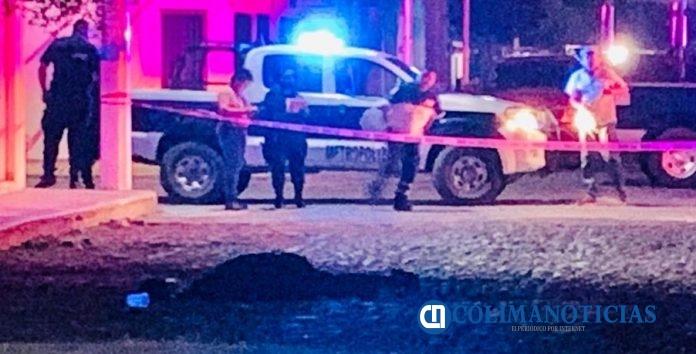 muerto en Armería 696x354 - Ejecutan a un hombre en la zona centro de Armería