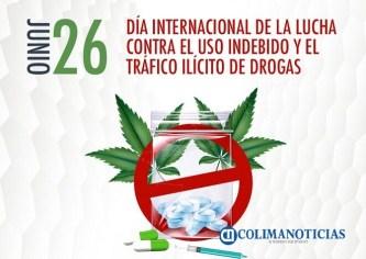 Día Internacional contra el Uso Indebido y Tráfico Ilícito de Drogas