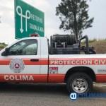 proteccion civil colima camioneta
