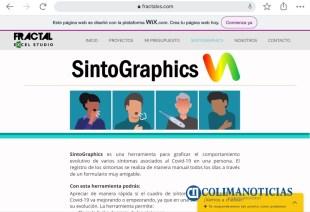 Colimense crea SintoGraphics, herramienta para graficar el comportamiento de Covid-19 en una persona6