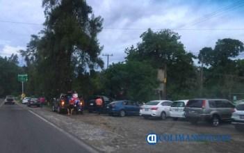 Zona norte de Comala registra gran afluencia turística el fin de semana, pero sin cubrebocas ni sana distancia 5