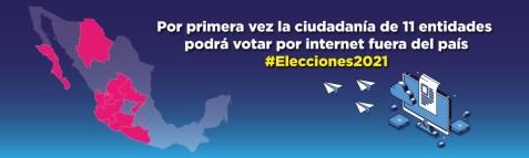 Abrió el INE inscripciones en la lista nominal de electores residentes en el extranjero3