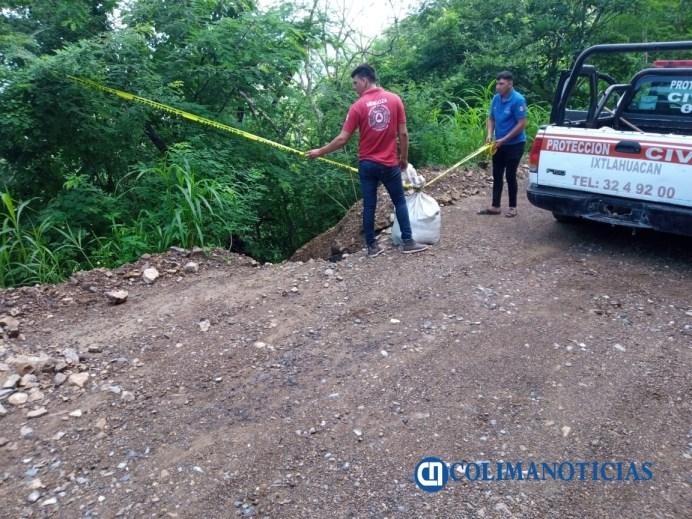 Afectaciones por lluvia son atendidas por protección civil de Ixtlahuacán