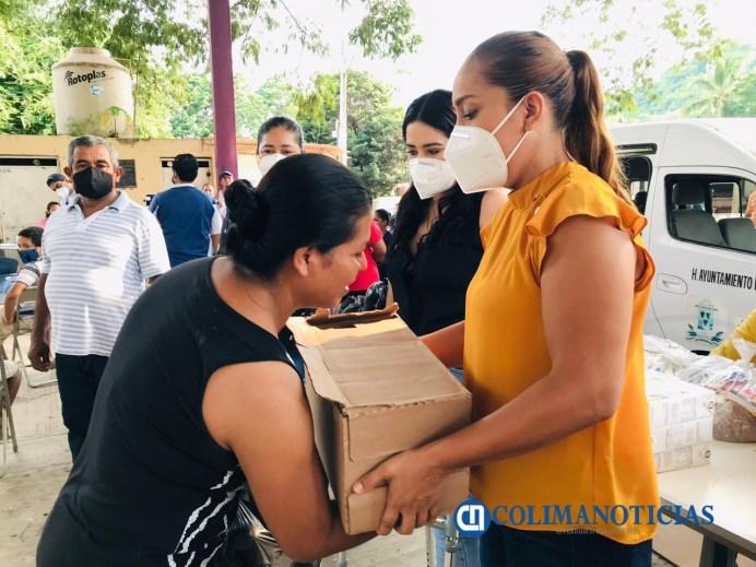 DIF Ixtlahuacán y ayuntamiento realizan brigada de servicios en Las Conchas