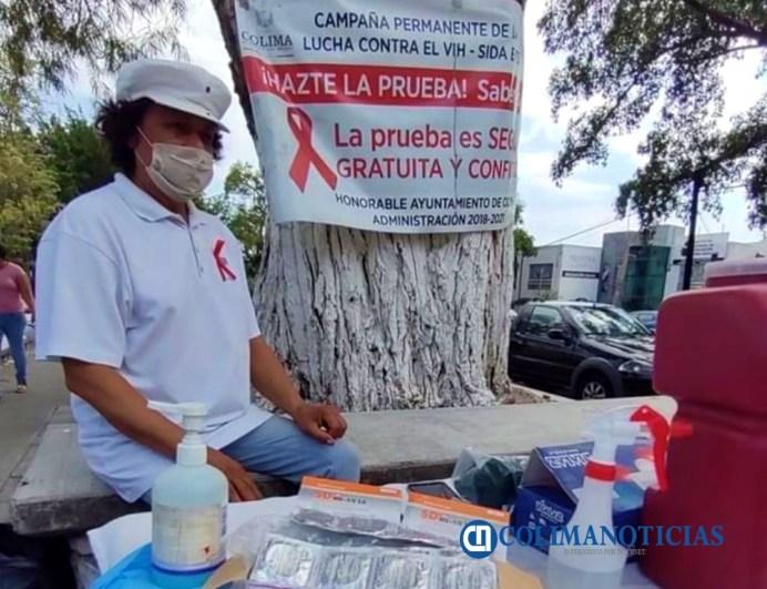 En comparación a 2019, en Colima ha disminuido el número de personas detectadas con VIH Sida