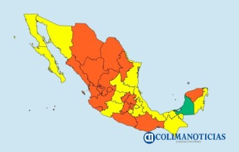 Colima se mantiene en semáforo naranja51