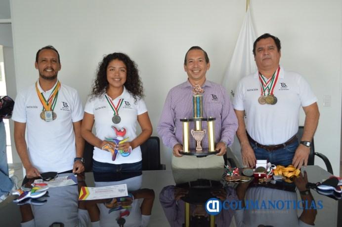 SUTUC reconoce el espíritu de competencia de los deportistas que obtuvieron medallas en los Juegos de los Trabajadores