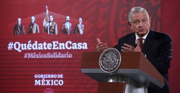 CIUDAD DE MÉXICO, 13NOVIEMBRE2020. - Andrés Manuel López Obrador, presidente de México durante la conferencia matutina en Palacio Nacional. Hoy también cumple años. FOTO: ANDREA MURCIA /CUARTOSCURO.COM