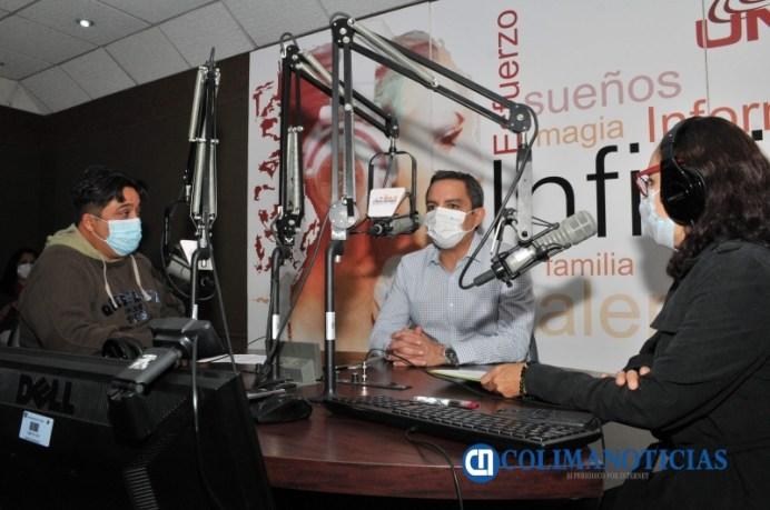 Entrevista al rector sobre su agenda de trabajo_PRINCIPAL