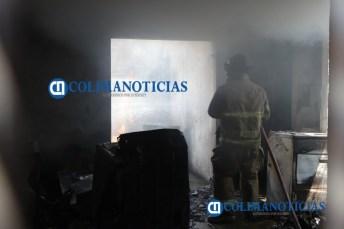 Controlan incendio de una casa en colonia Nuevo Milenio1