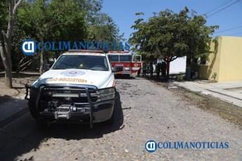 Controlan incendio de una casa en colonia Nuevo Milenio4