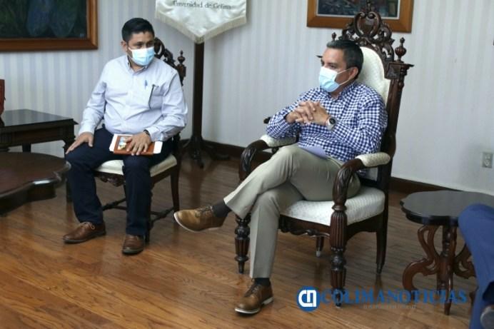Interesa al sistema anticorrupción de colima convenio con UdeC_Juan Carlos Alcántar y Christian Torres Ortiz