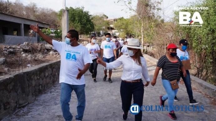 Blanca Acevedo se ocupará de la salud de las familias de Ixtlahuacán