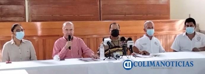 Audelino Flores llama a la Federación de Trabajadores a votar por Mely Romero y candidatos de la Coalición Va por Colima