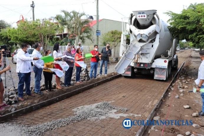 Felipe Cruz arranca 17 nuevas obras de vialidad, luminarias led, banquetas y puentes, por más de 18 millones de pesos