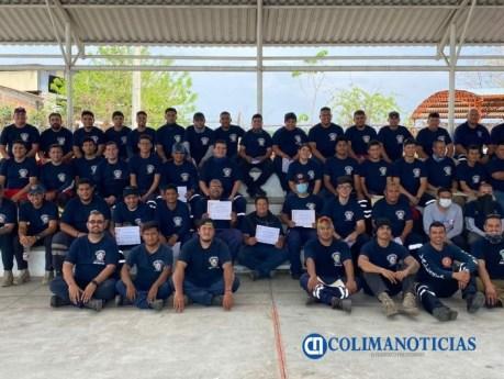 Participan Bomberos municipales en Simposio Internacional
