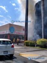 Se incendia estructura de estacionamiento de La Marina San Fernando18