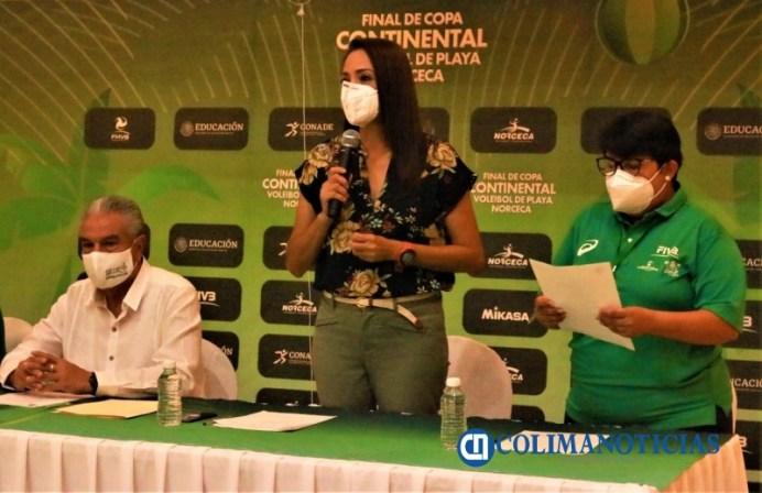 Se realizó junta técnica de la Final de Copa Continental de Voleibol de Playa Norceca