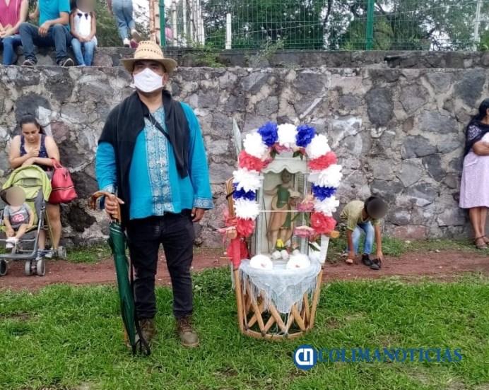 Suchitlán piden a San Juan, un buen temporal de lluvias