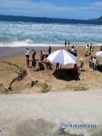 Una menor y una mujer adulta son rescatadas en Playa de Oro2