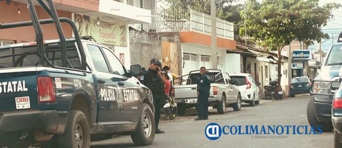 asaltan panadería - policía de tecomán