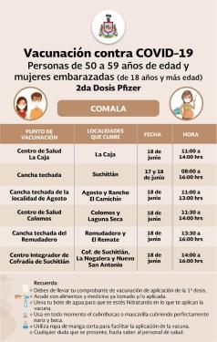calendarios vacunas municipios 2