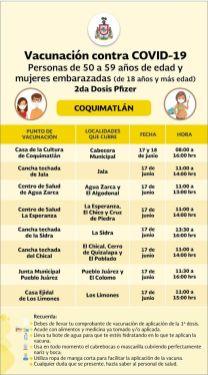 calendarios vacunas municipios
