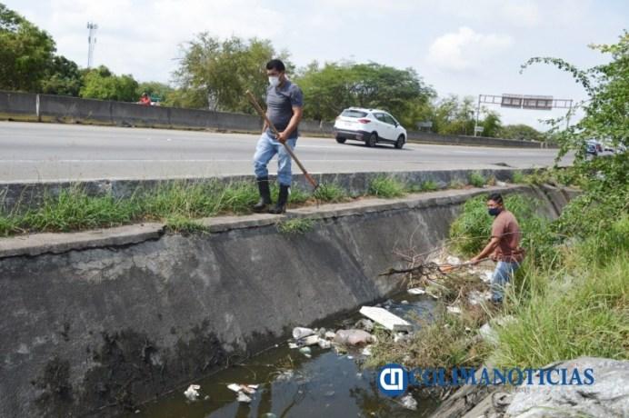 desazolve de arroyos, canales y alcantarillas