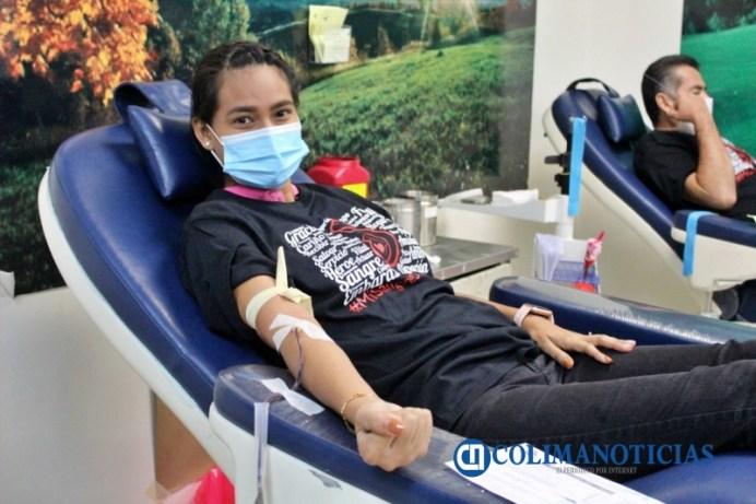 donación de sangre en Colima