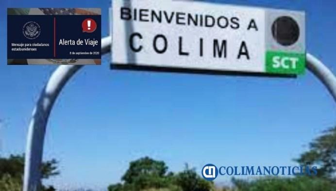 recomienda gobierno de EU no viajar a Colima
