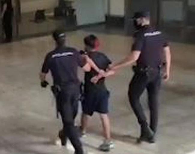 detenido colombiato agresor