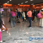 aeropuerto viajeros cubrebocas