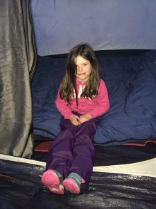 Fiona in the Tent
