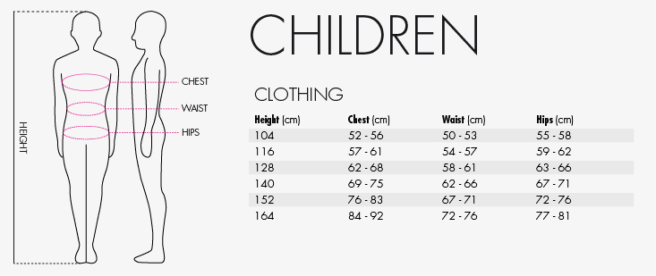 reece kids size guide