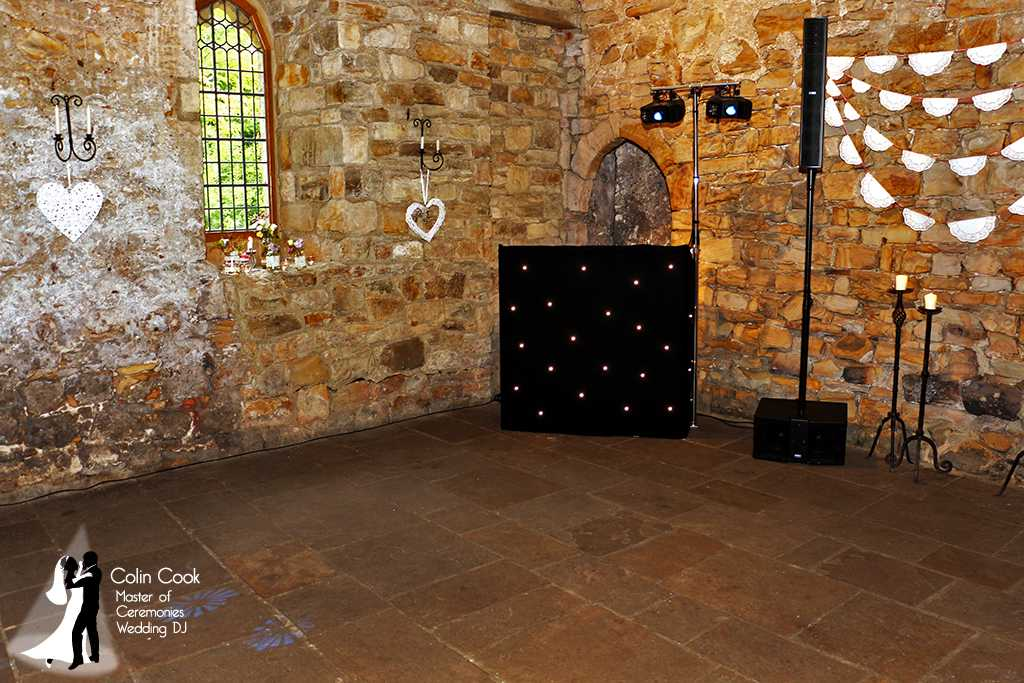 Crook Hall Recommended Wedding DJ, Master of Ceremonies and Wedding Monogram, Durham