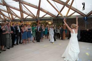 Alnwick Garden Wedding Disco Fun First Dance