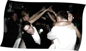 The end of a memorable, fun and unique Wedding Day and Evening Reception Wedding Disco