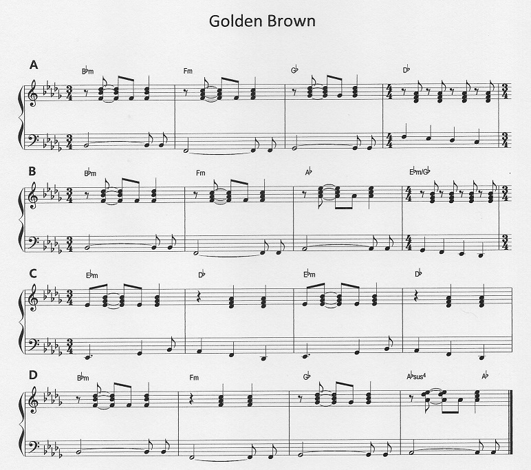 All Music Chords golden sheet music : music | Colin D Smith | Page 2