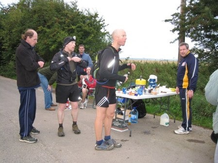 last checkpoint after 79 miles only 6 miles to go!
