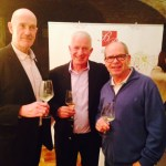 My friends, Nigel, a resident of Bullas, and Pepe, one of my fellow Judges enjoying the wine tasting before 'work' in the morning!
