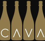 CRUISE CAVA BOTTLES WITH CAVA WRITTEN IN V'S